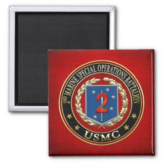 2nd MSOB [3D] 2 Inch Square Magnet