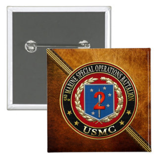 2nd MSOB [3D] 2 Inch Square Button
