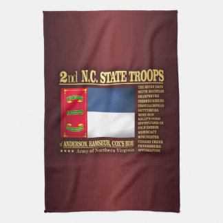 2nd NC State Troops (BA2) Hand Towel