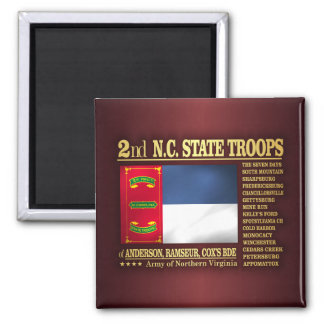 2nd NC State Troops (BA2) Magnet