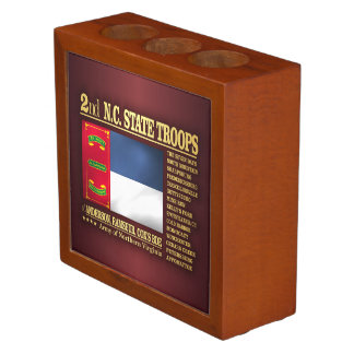 2nd NC State Troops (BA2) Pencil Holder