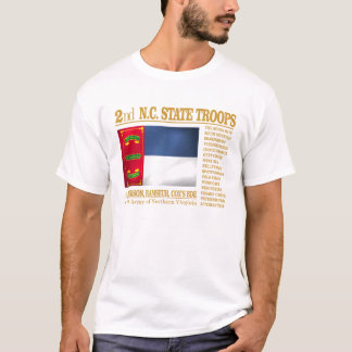 2nd NC State Troops (BA2) T-Shirt