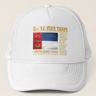 2nd NC State Troops (BA2) Trucker Hat