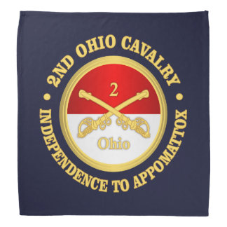 2nd Ohio Cavalry (rd) Bandana