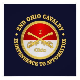 2nd Ohio Cavalry (rd) Poster