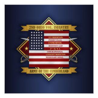 2nd Ohio Volunteer Infantry Poster