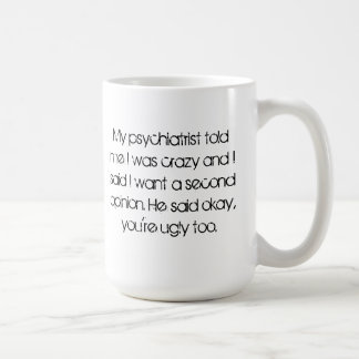 2nd opinion Mug