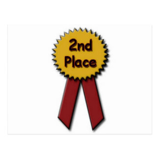 2nd Place Red Ribbon Postcard