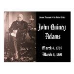 2nd President Of the United States John Adams Postcard