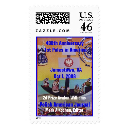 2nd  Prize PAJ Contest 400th Annive.. - Customized Postage Stamps