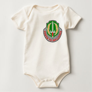 2nd Psychological Operations Group Military Patch Baby Bodysuit
