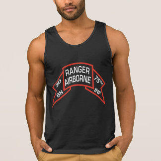 2nd Ranger Battalion old-style scroll Tank Top