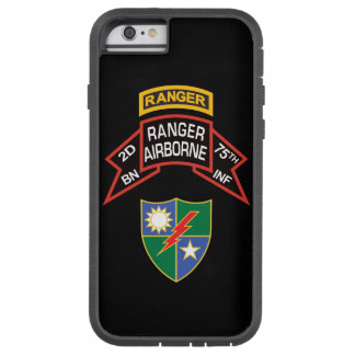 2nd Ranger BN, 75th INF old-style scroll with tab Tough Xtreme iPhone 6 Case