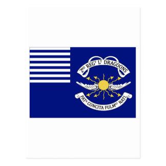 2nd Regt Lt Dragoons Postcard