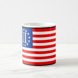 2ND REVOLUTION AMERICAN FLAG COFFEE MUG