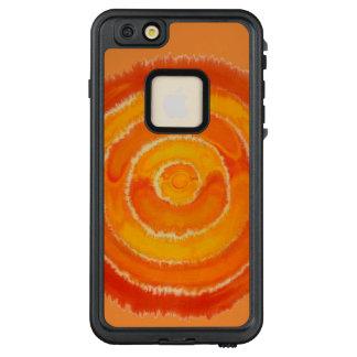 2nd-Sacral Chakra#1 Orange Mixed Media LifeProof FRĒ iPhone 6/6s Plus Case
