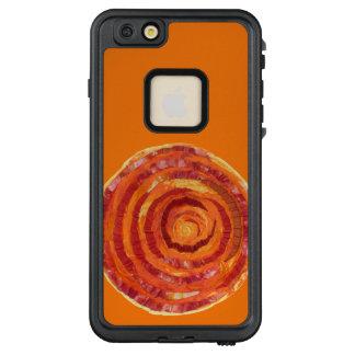 2nd-Sacral Chakra #2 Orange Mixed Media LifeProof FRĒ iPhone 6/6s Plus Case