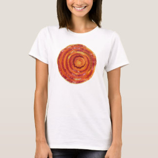2nd-Sacral Chakra Artwork Fabric- Paint #2 T-Shirt