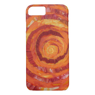 2nd-Sacral Chakra Cleansing Artwork #2 iPhone 8/7 Case