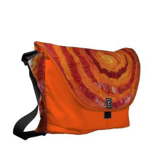 2nd-Sacral Chakra Healing Orange Artwork #2 Courier Bag