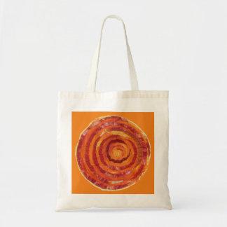 2nd-Sacral Chakra Orange Fabric- Paint #2 Tote Bag