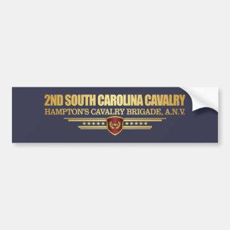 2nd South Carolina Cavalry Bumper Sticker