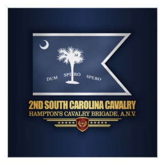 2nd South Carolina Cavalry Poster