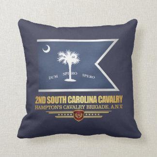 2nd South Carolina Cavalry Throw Pillow