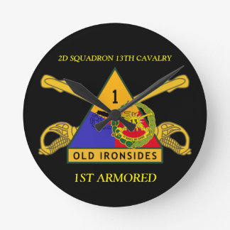 2ND SQUADRON 13TH CAVALRY 1ST ARMORED CLOCK