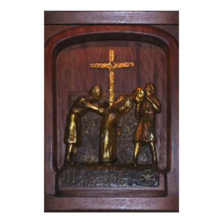2nd Station of the Cross Print