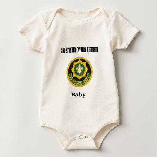 2nd Stryker Cavalry Regiment Baby Bodysuit