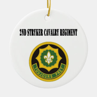 2nd Stryker Cavalry Regiment Ornament