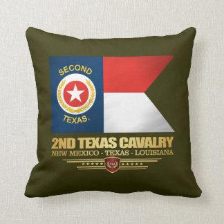 2nd Texas Cavalry Throw Pillow