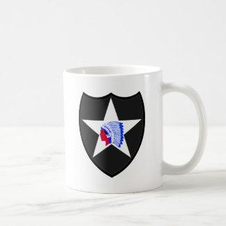 2nd U.S. Infantry Indianhead Division Coffee Mug