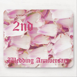 2nd wedding anniversary - Lily of the valley Mouse Pad