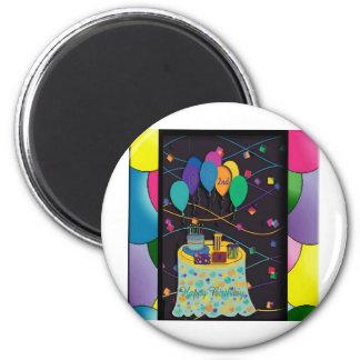 2ndsurprisepartyyinvitationballoons copy 2 inch round magnet