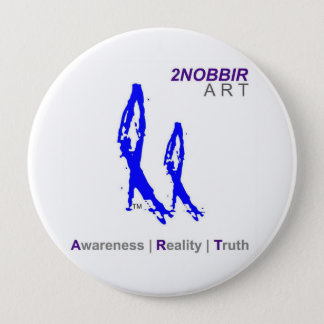 2NOBBIR ART 4in Awareness Button