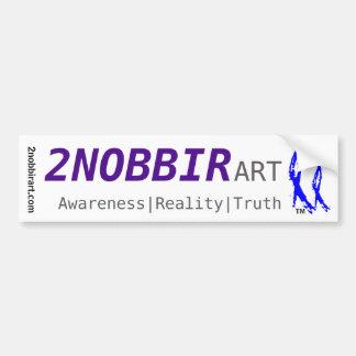 2NOBBIR ART BumperSticker Bumper Sticker