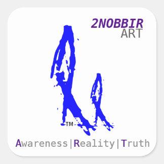 2NOBBIR Art Sticker