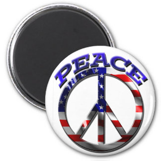 2Peace 2 Inch Round Magnet
