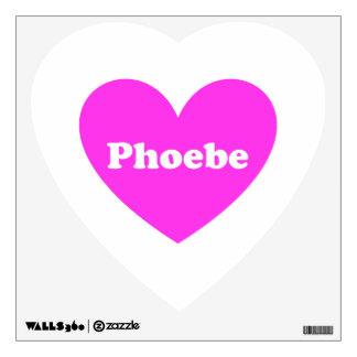 2Phoebe Wall Sticker