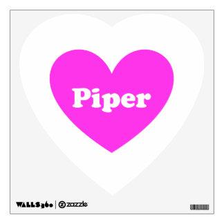 2Piper Wall Sticker