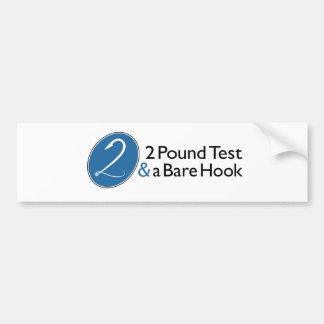 2PT Bumpersticker Bumper Sticker