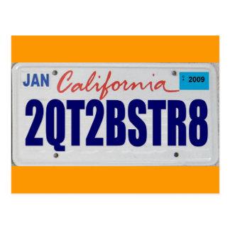 2QT2BSTR8:  California Tarjetas Postales