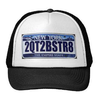 2QT2BSTR8:  Nueva York Gorros Bordados