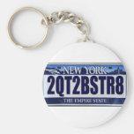 2QT2BSTR8:  Nueva York Llavero Personalizado