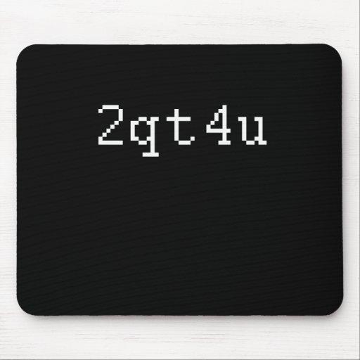 2qt4u mouse pad