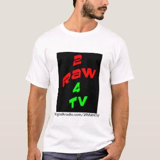 2RAW4TV tee