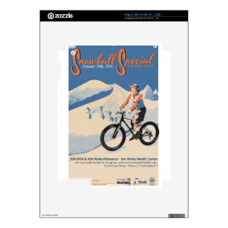 2SNOWBALL SPECIAL FB RACE SKIN FOR iPad 2