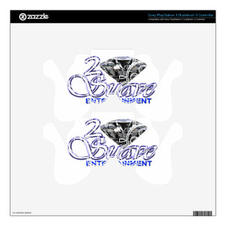 2Suave Ent Electronic Skins PS3 Controller Skins